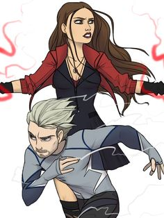 The Maximoff Twins by thelivingmachine02 on DeviantArt