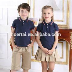 Toddler School Uniforms, School Uniform Outfits, Cute School Uniforms, Kids Uniforms, School Wear, School Dresses, Uniform Ideas, Summer Kids, Summer School
