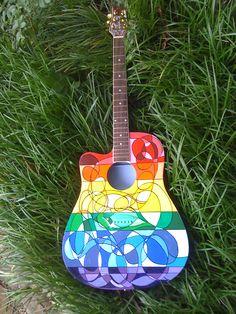 Art guitar