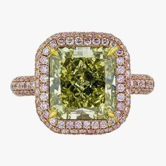 Кольцо из розового золота от Shreve, Crump & Low