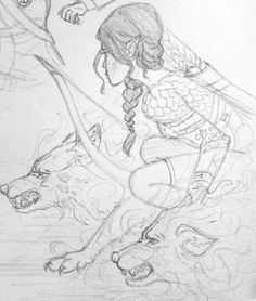 sncinder: TOG/ACOTAR series random sketches from... - SnCinder