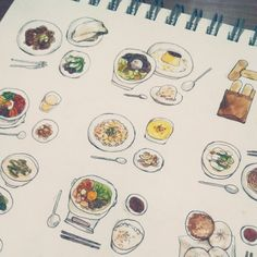 Meals ~ illustration