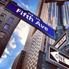 #5th Avenue #New york will be spending a couple of days on 5th Ave #Shopping