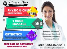 #Chiropractic #orthotics #massage #physiotherapy #fitnessplus Beauty Spa, Chiropractic, Fun Workouts, Clinic, Massage, Weight Loss, Fitness, Losing Weight, Massage Therapy