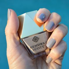Love this color. click through for review. #nailpolish #kendrascott #ksnailedit