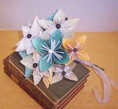 Paper flower bouquet wedding event arrangement by cottagelakegifts, $34.99