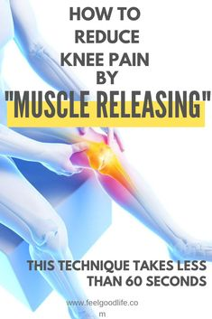 Struggling with chronic knee pain? Unable to workout? Are you ready to stop taking pain medication for your knee pain? This FREE 60 second knee massage technique has been shown to decrease inflammation, ease swelling & reduce knee pain WITHOUT prescriptio Knee Arthritis, Rheumatoid Arthritis, Fibromyalgia Pain Relief, Knee Strengthening Exercises, How To Strengthen Knees, Knee Pain Relief, Medical Prescription, Pain Management, Human Body