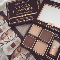 pinterest: lilyyprew - too faced cocoa contour palette