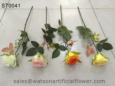 Decorative silk roses - Tianjin Watson Gifts Co., Ltd.
