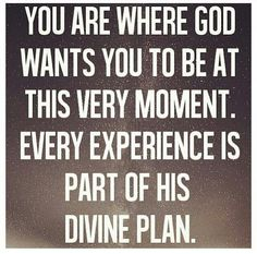 Everything happens to you for a reason dont worry about other people God has plan for YOU