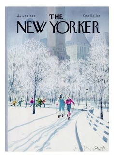 The New Yorker Cover - January 29, 1979 Regular Giclee Print di Charles Saxon su AllPosters.it