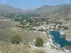 Amazing Greek Island Sailboat Harbor View 1