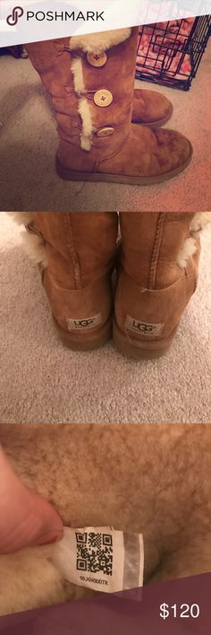 Bailey button tall ugg boots Perfect condition Shoes Winter & Rain Boots