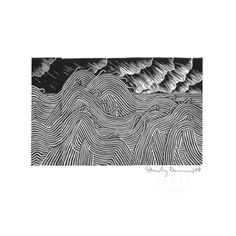I am obsessed with this print - Tiny Treasure Island by Stanley Donwood.