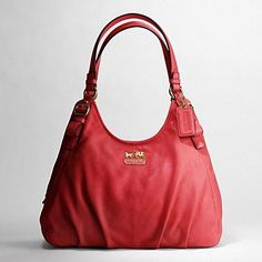 Cherry Red Coach from the Heart