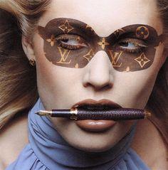 Inez van Lamsweerde & Vinoodh Matadin / Louis Vuitton Campaign 1997.