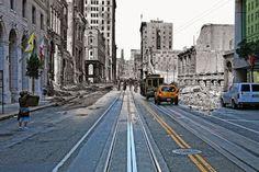 San Francisco tras el terremoto