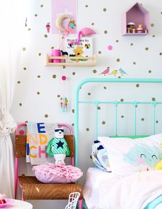 colorful kids room to spark the imagination.