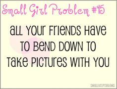 You can just sit side-by-side to help tackle this one. #petite #short_girl #problems