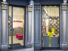 Le Babe flasgship store by Visual Display Udine Italy 15 Le Babe flasgship store by Visual Display, Udine   Italy