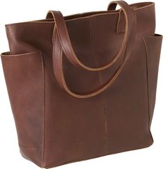 Tote that would be perfect for travel and day-trips. Duluth Trading Co., 'Lifetime Tote'