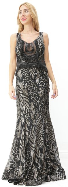 72ace92d20c Nouvelle Collection Mode en Ligne femme. Sortez la femme glamour et chic en vous  avec cette robe noire à sequins en forme ...