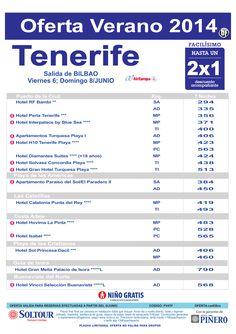 Tenerife: Hasta 2x1 hoteles en Tenerife salidas desde Bilbao ultimo minuto - http://zocotours.com/tenerife-hasta-2x1-hoteles-en-tenerife-salidas-desde-bilbao-ultimo-minuto-3/