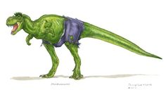 Dinosaurs Avengers