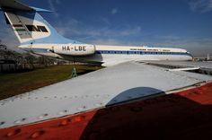 Ту-134 авиакомпании Малев. Музей авиации в аэропорту Будапешт
