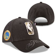 c47029aa20484 Golden State Warriors New Era 2017 NBA Finals 9FORTY Snapback - Black