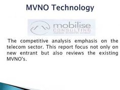 Contact Mobilise Consulting to avail the best MVNO operations support including business planning, profit analysis and traffic modeling that will help you to grow and operate your MVNO.