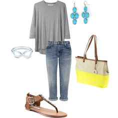 Perfect spring casual going out outfit