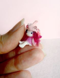 Tiny pink fairy - the flower pixie.