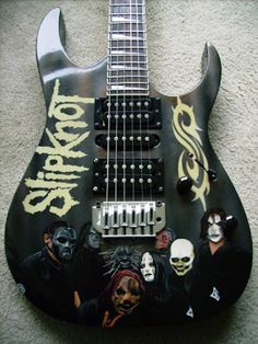 Slipknot guitar