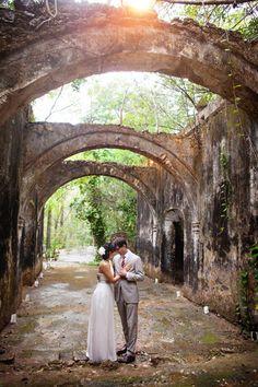 Real Weddings: Susan and Luis' Destination Wedding in Mexico