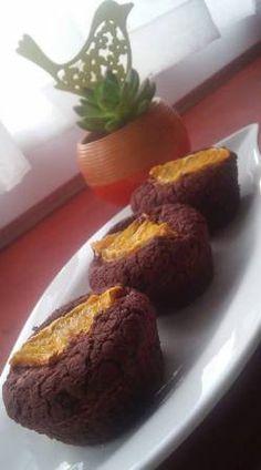 Zabpelyhes csokis muffin naranccsal