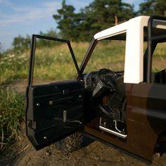 Handmade RC offroad Toyota models. Toyota Land Cruiser 73.