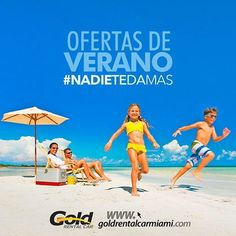 Verano es sinónimo de ofertas en Miami. Aprovéchalas y recorre toda la ciudad en uno de nuestros autos. #NadieTeDaMás������ ---------------------------------------- www.goldrentalcarmiami.com USA: 7868003560 - VEN: 212-720-43-50 - COL: 15082316 - BRA: 1141186227 - ARG: 1151990511  info@goldrentalcarmiami.com _________  #Alquiler #Autos #Car #Rental #RentalCar #Florida #Miami #Vacaciones #DriveWhitUs #Orlando #Colombia #Argentina #Brasil #Panamá #Ecuador #alquilerdeautos