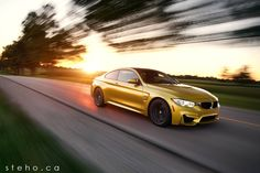 The BMW M4 - a car to be reckoned with! Image by: www.stehophoto.com #BMW #F82 #M4