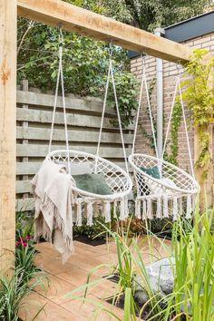 Backyard Patio Designs, Backyard Projects, Outdoor Projects, Backyard Landscaping, Diy Patio, Patio Ideas, Backyard Hammock, Diy Porch, Dream Garden