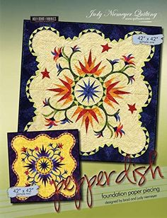 Pepper Dish Paper Piece Judy Niemeyer Quilt Pattern   Foundation Papers