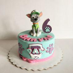 Paw patrol cake for a girl  Торт щенячий патруль для девочки