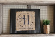 Print on burlap!! and easy decoration for any occasion! Find it, Make it, Love it