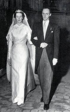 Noblesse et Royautés: Wedding of Princess Margherita of Savoy, daughter of Duke Amedio of Aosta and Princess Anne d'Orléans, and Archduke Robert of Austria Este, second son of Emperor Charles I of Austria and Princess Zita of Bourbon-Parma, Brou, France, December 29, 1953. The couple had five children: Archduchess Maria Beatrice, Archduke Lorenz (husband of Princess Astrid of Belgium), Archduke Gerhard, Archduke Martin, and Archduchess Isabella.