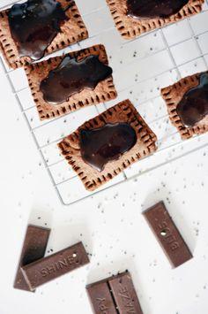 Chocolate poptarts: http://www.stylemepretty.com/living/2015/05/18/homemade-chocolate-poptarts/   Recipe: Lark + Linen - http://www.jacquelynclark.com/
