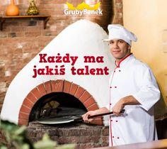 Każdy ma jakiś talent. My tworzymy prawdziwie królewską pizzę. A co Ty robisz najlepiej, nasz Benkowiczu?   #grubybenek #pizza #poranek #mam #talent