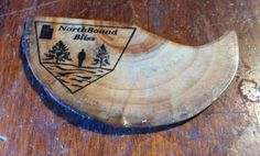 Handcrafted Hooked Wood Bookmark