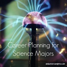 Career Planning for Science Majors