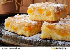 Kefírová buchta s drobenkou recept - TopRecepty.cz Kefir, Cornbread, Pudding, Baking, Ethnic Recipes, Desserts, Fitness, Millet Bread, Tailgate Desserts