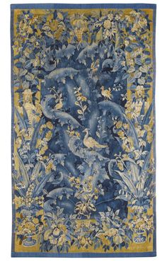 Collections - View Auction details, bid, buy and collect the various artworks at Sothebys Art Auction House. Medieval Tapestry, Art Auction, 16th Century, Impressionist, Planting Flowers, Modern Art, Birds, Rugs, Antiques